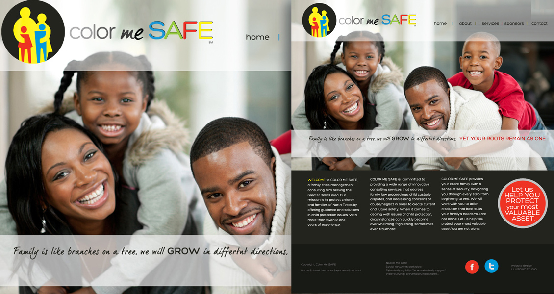 Color Me Safe Website